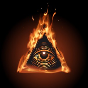 The all seeing eye is everywhere.