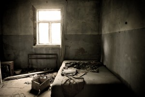 You Will Be Shackled To This Bed For All Eternity - While The Ghosts Scream Your Name Out In The Hallway