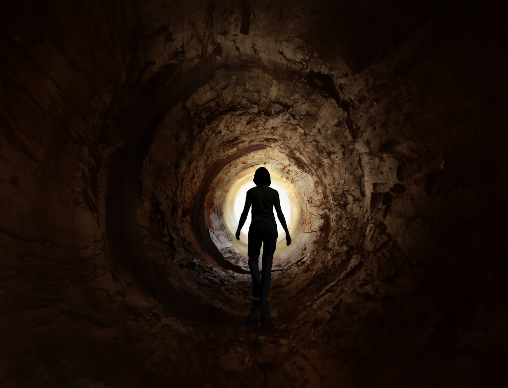 The Dark Tunnel Until The End Of Time